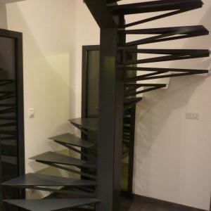 escalier hélicoidal plouguerneau lannilis lesneven