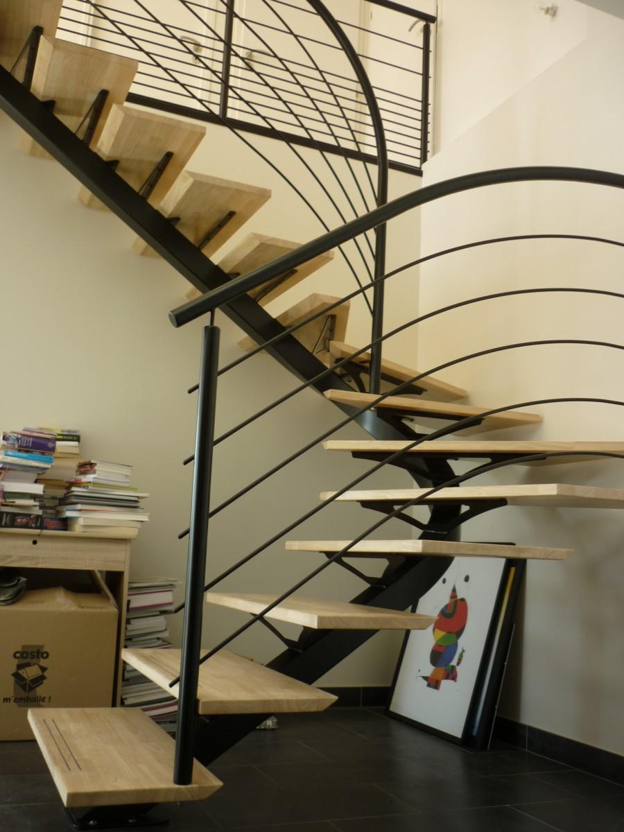 Escalier Interieur    Exterieur