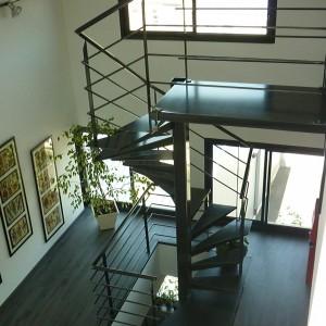 escalier hélicarré